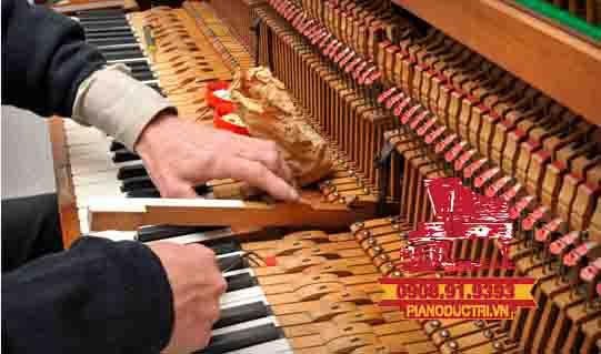 Biện pháp khắc phục khi đàn piano cơ bị dính phím
