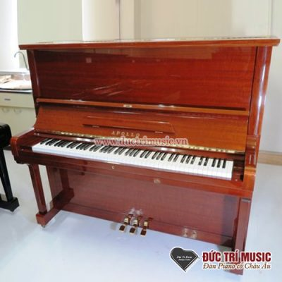 Piano Đức Trí bán đàn piano Apollo A370 màu nâu gỗ Walnut